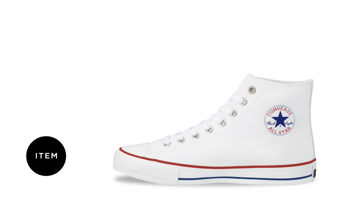 ALL STAR® GF SLIP-ON WHITE